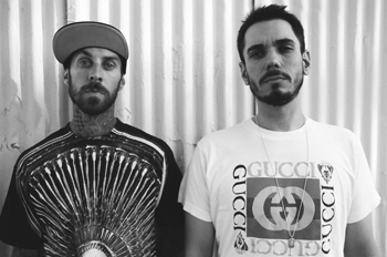 DJ AM, Adam Goldstein, is released from the hospital (right)
