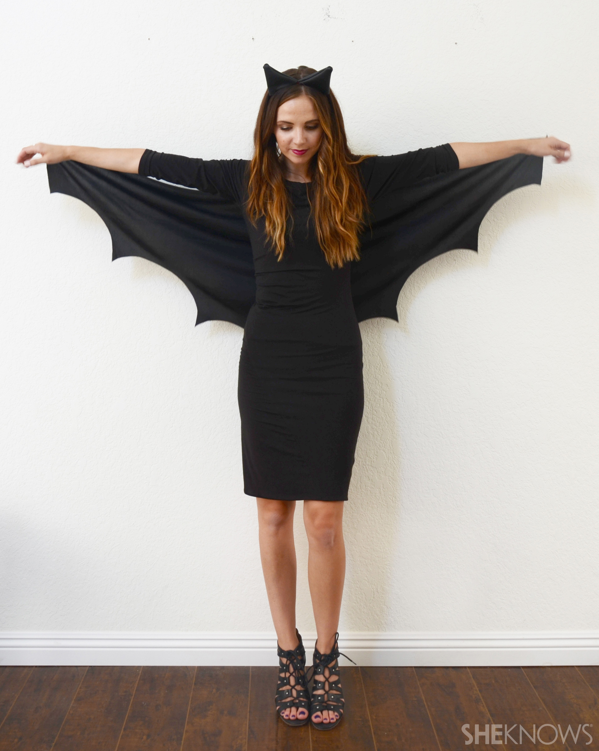 A Diy Bat Costume So Easy No One Will Know It Only Took 10 Minutes