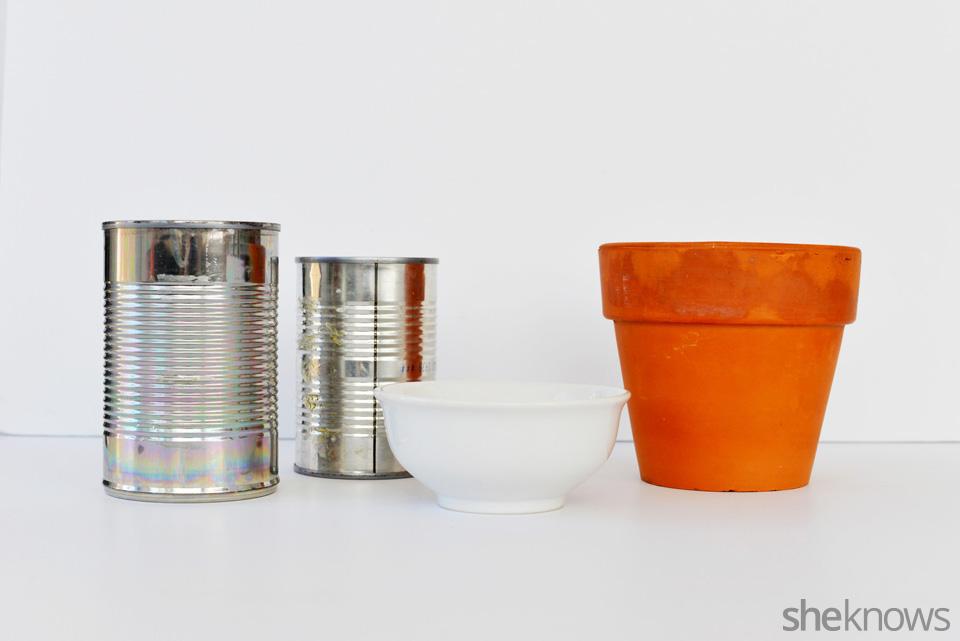 DIY Repurposed Vessels 3 ways