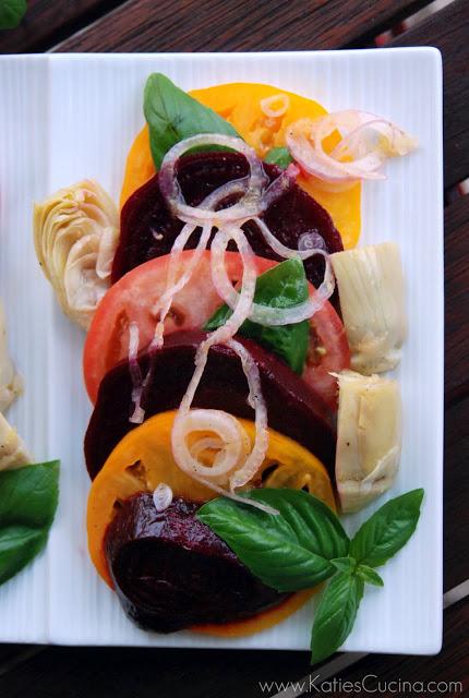 beet tomato salad