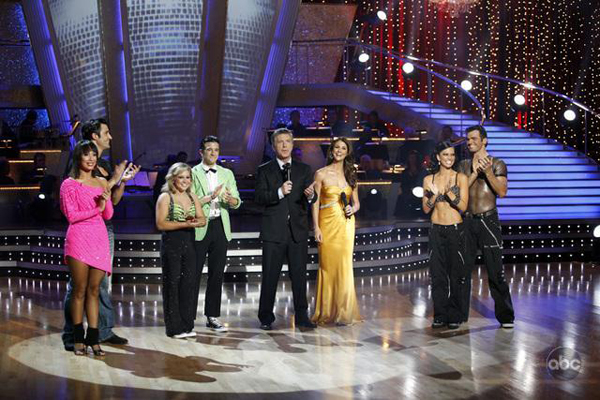 Who will hoist the Dancing with the Stars disco ball trophy?