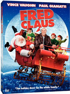 Fred Claus is a holiday treat