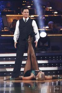 Donnie Osmond on DWTS