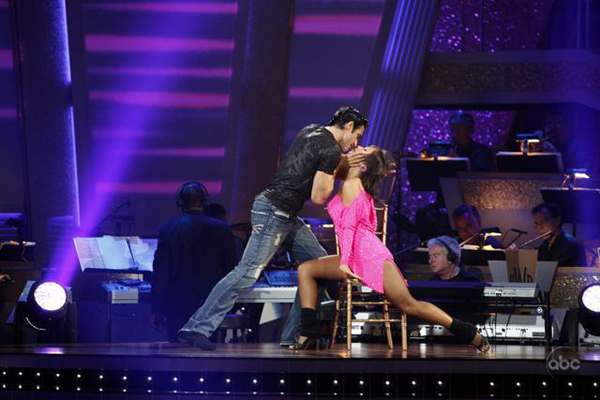 Gilles and Cheryl prove their DWTS mettle