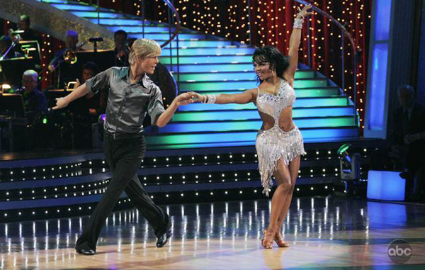 Lil' Kim and Derek Hough rocked DWTS
