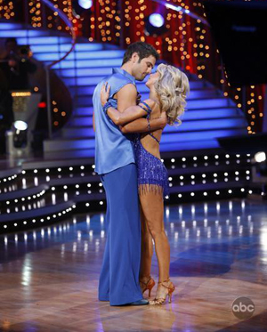 Chuck and Julianne go home on DWTS