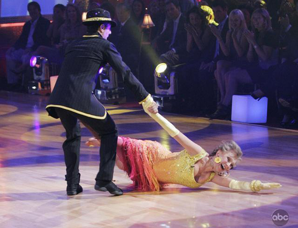 Cloris is still giving it a go on Dancing with the Stars at 82 years young