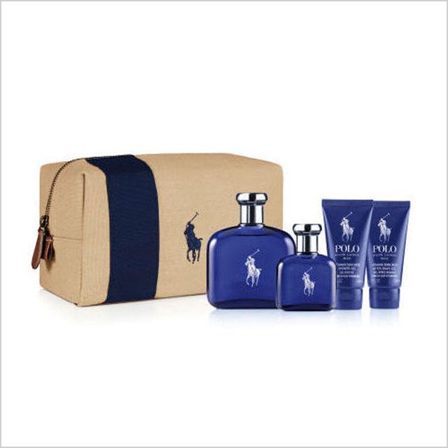 2. Dad: Ralph Lauren Polo Blue Travel Kit