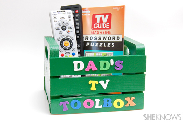 Father's Day gift - TV toolbox