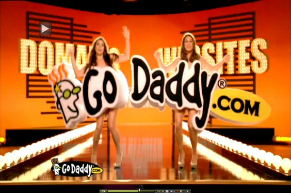 Danica Go Daddy ads