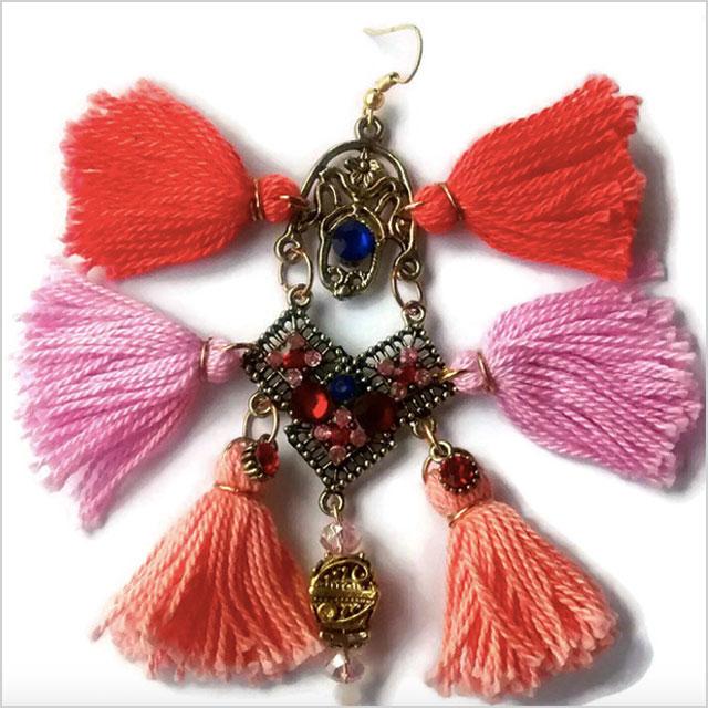 DareToDaret Tassle Earrings