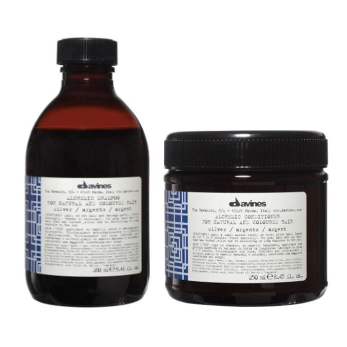 Davines Alchemic Shampoo & Conditioner Silver
