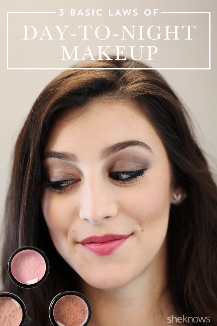 Day to night makeup Pinterest