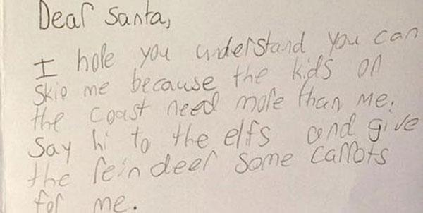Dear Santa: You can skip me