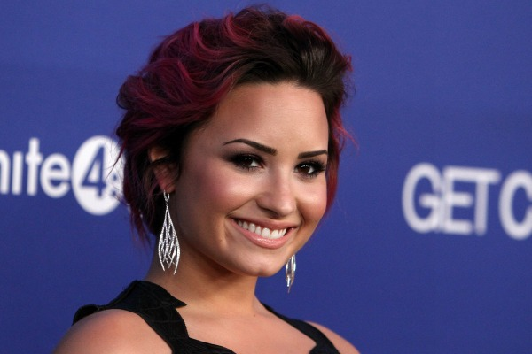 Demi Lovato and celebrities with bright hairstyles