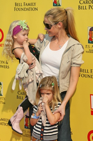 Denise Richards and her daughters