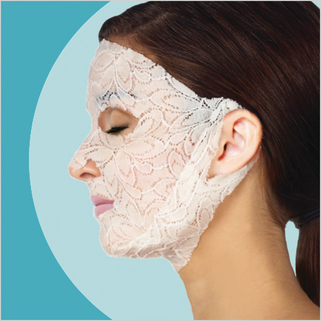 Dermova Lace Your Face Mask: Calming Chamomile