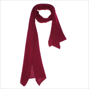 District cashmere scarf