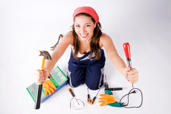 DIY woman