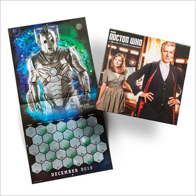 Doctor Who 2016 wall calendar