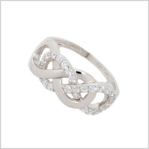Double infinity ring
