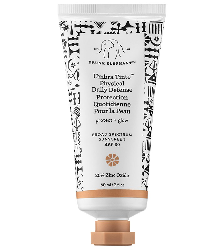 Best SPF-Filled Tinted Moisturizers For The Summer: Drunk Elephant Umbra Tinte Physical Daily Defense Broad Spectrum Sunscreen SPF 30 | Summer Makeup 2017