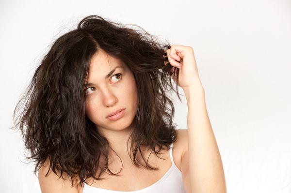 Dry, winter hair