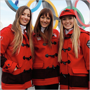 Justine, Chloe and Maxime Dufour-Lapointe | Sheknows.ca