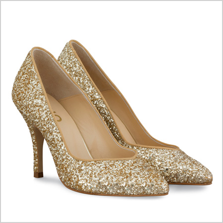d5cb6e8a5571 12 Kick-ass glitter heels that make a basic dress look festive ...