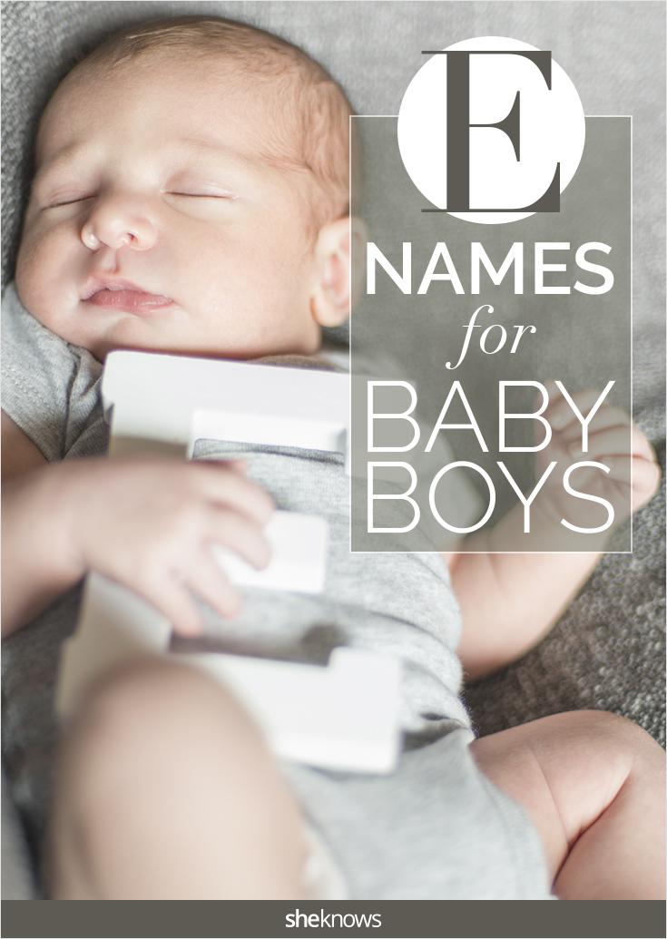 E names for baby boys
