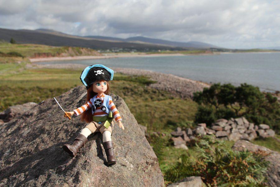 A Pirate Lottie Doll.