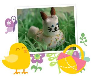 Easter bunny peep