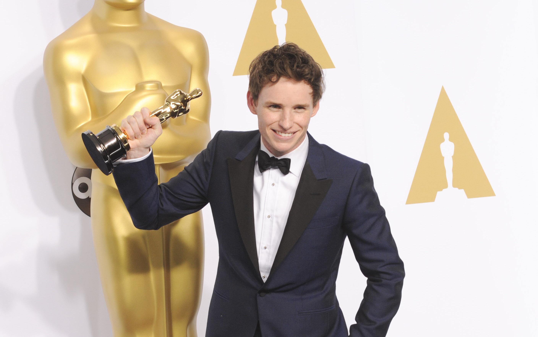 Eddie Redmayne Academy Award 2015