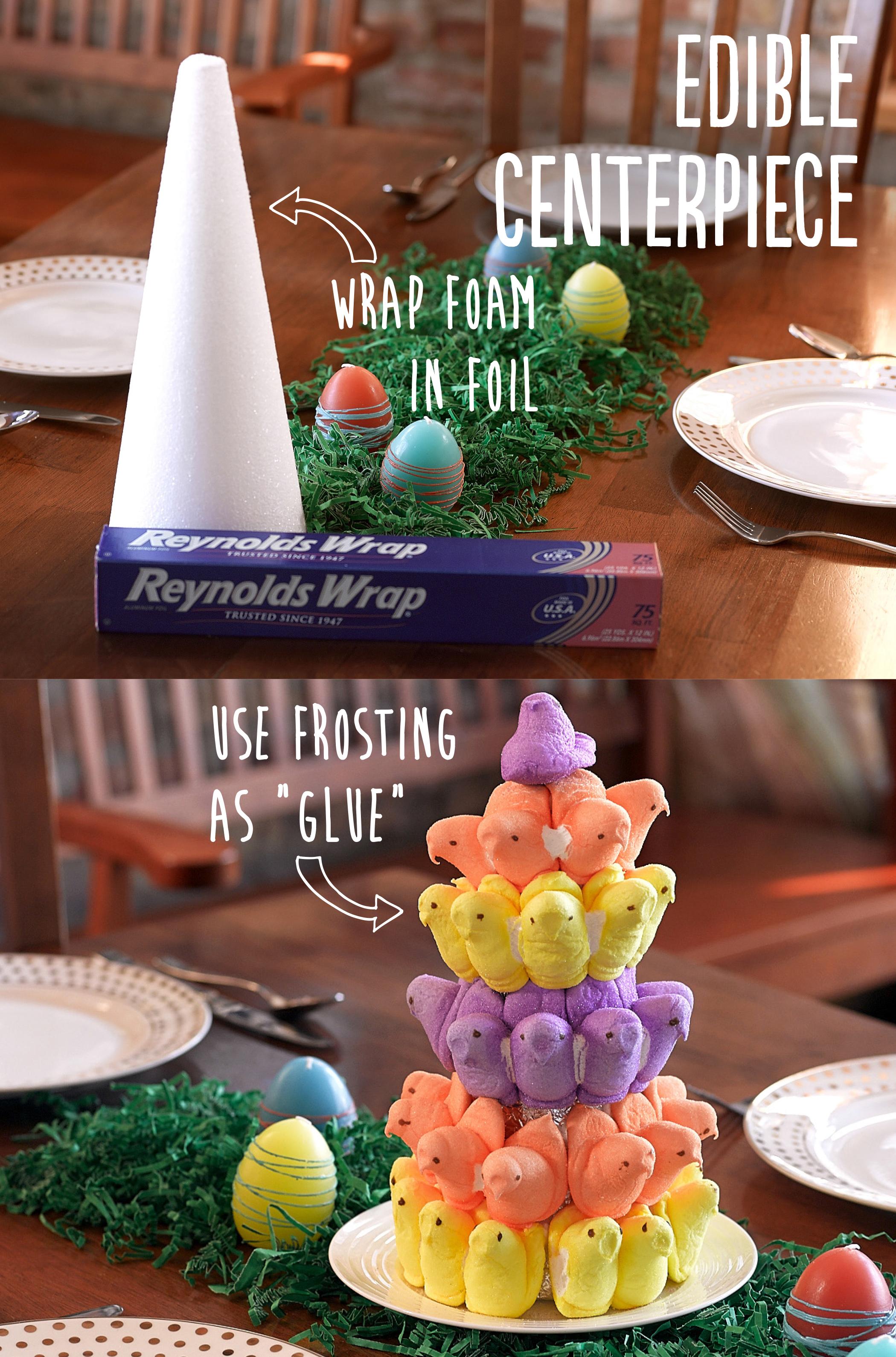 edible peeps centerpiece