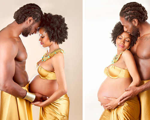 Unique maternity photos