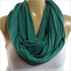 Emerald green nomad cowl