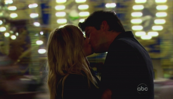 Emily Maynard and Arie on the Bachelorette