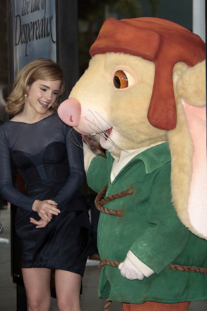 Emma Watson sticks to mice for company