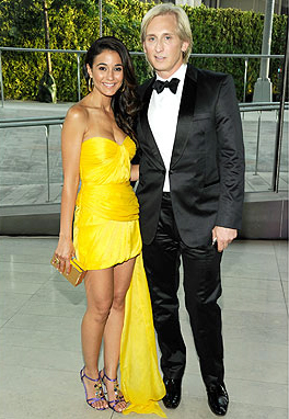 Emmanuelle Chriqui and David Meister at the CDFA Awards 2011