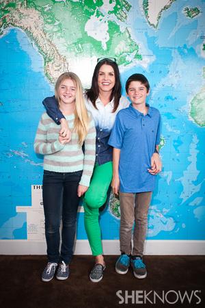 Erin Condren and kids