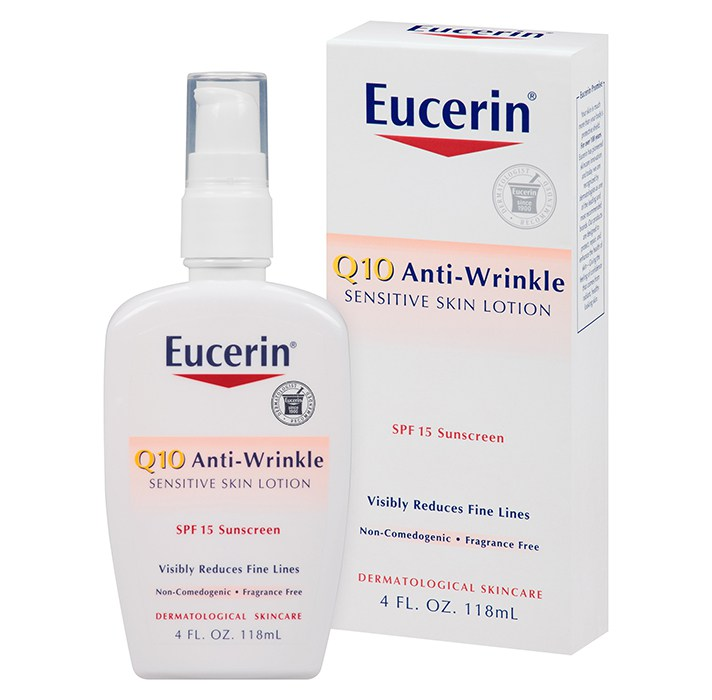 Eucerin Q10 Anti-Wrinkle Sensitive Face Lotion
