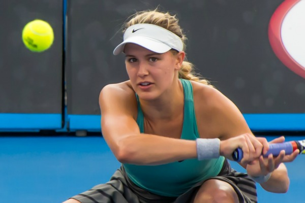 Eugenie Bouchard asked to twirl at Australian Open