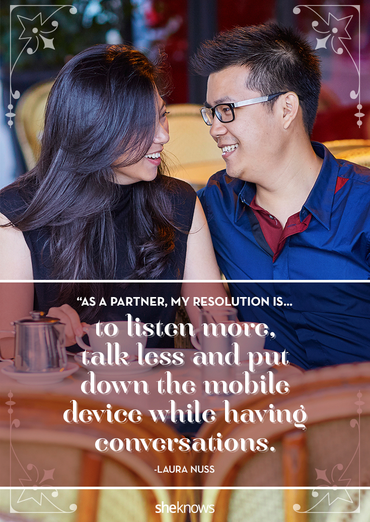 relationship resolution: listen more