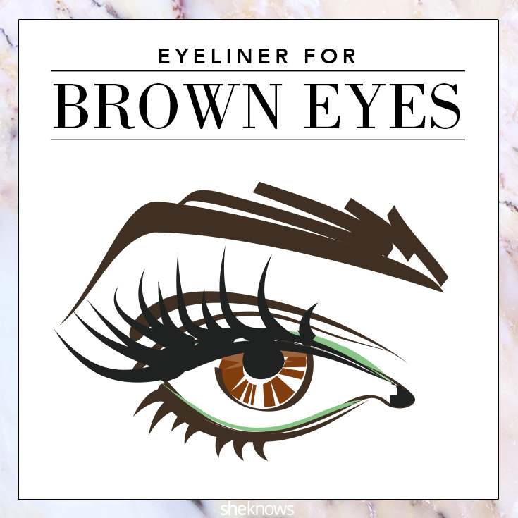 The best colored eyeliner for Brown eyes