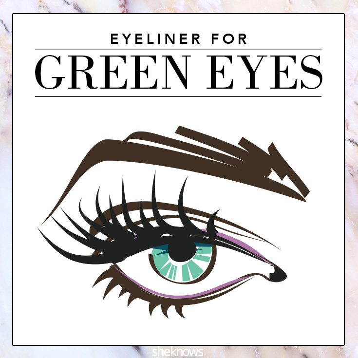 The Best Colored Eyeliner For Your Eye Color Sheknows