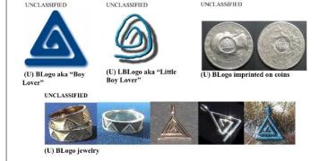 Pedophile symbols