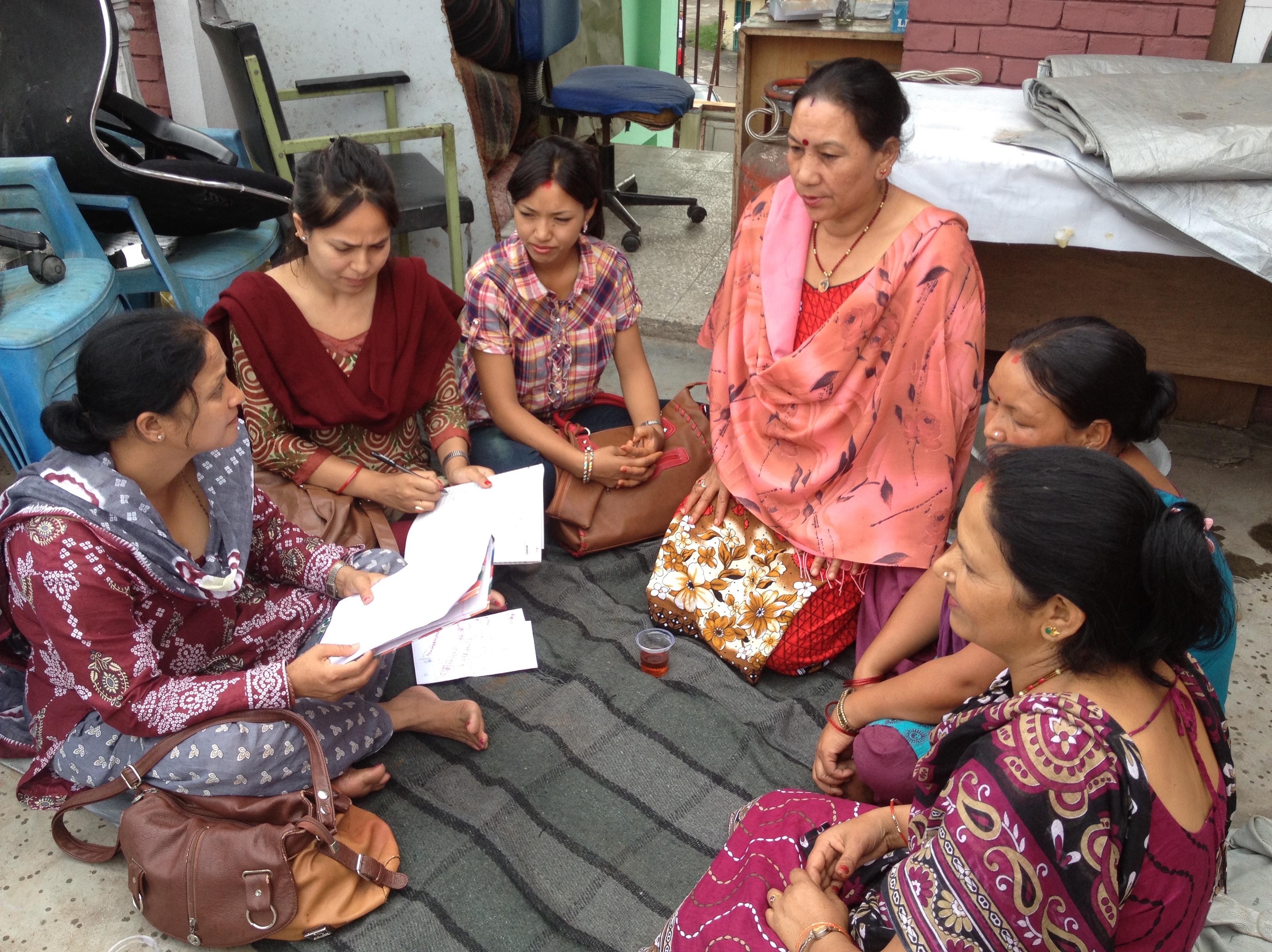 Women discussing international surrogacy