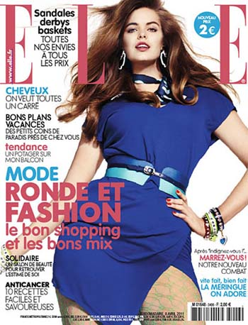 Robyn Lawley in French ELLE