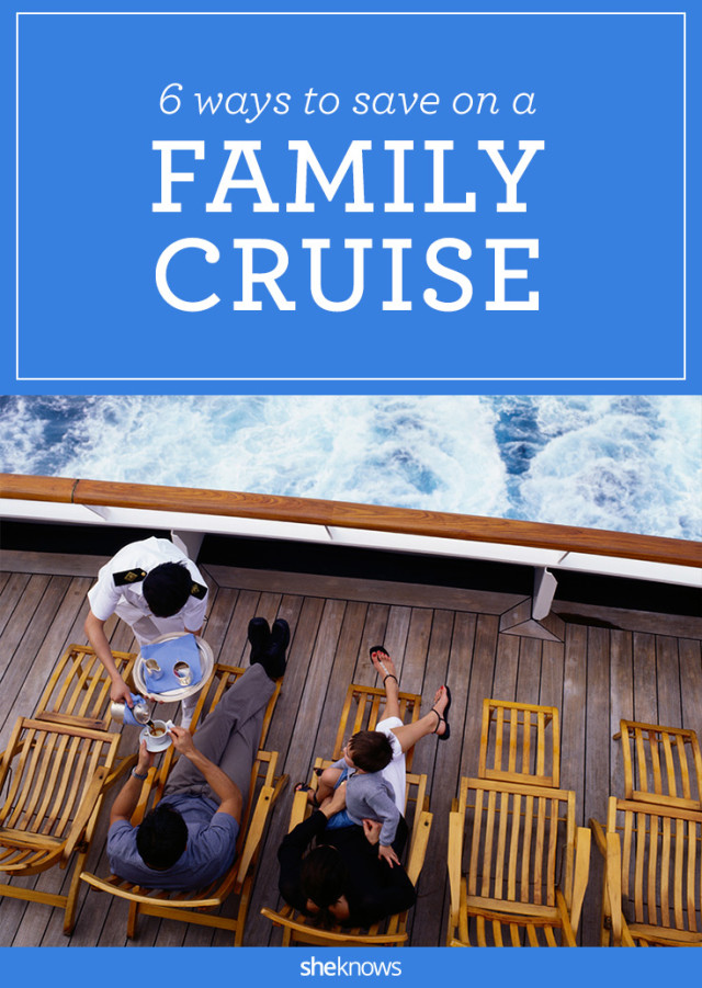 How to save on a family cruise