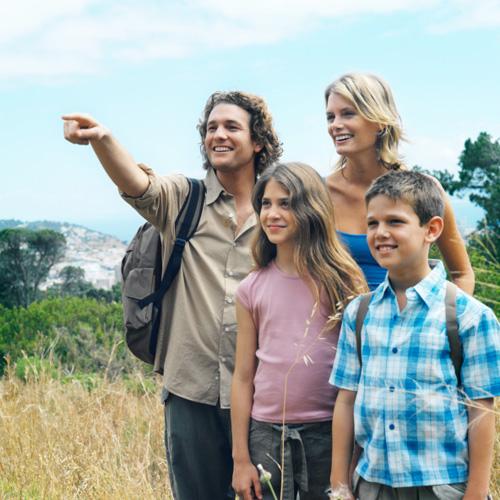 Family on Eco-tour